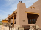 Built in the desert of New Mexico, the Grand Hyatt hotel picture