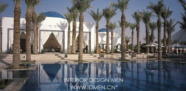 Dubai Park Hyatt Hotel Islamic Style Free Interior