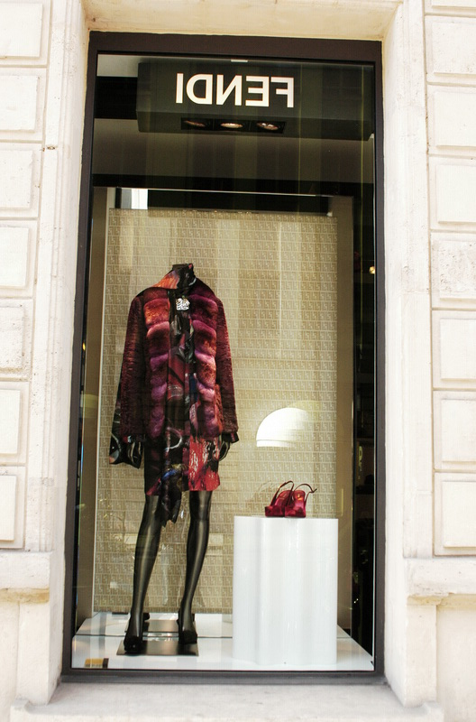 Paris street fashion store windows and Appreciation (8)