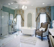 Creative bathroom interior design
