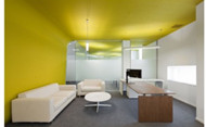 Bright interior office space design