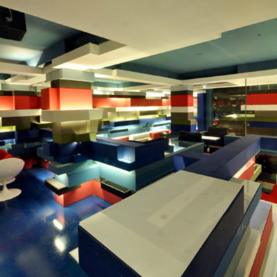 The Colorful Indian Coffee Shop Free Interior Design