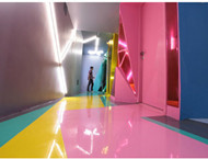 Sense of light and colorful interior design