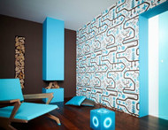 Creative color interior decoration design