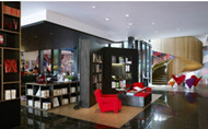 London CitizenM hotel interior design