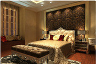 Luxury European Style bedroom interior design