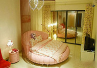 The pink fantasy girls bedroom design