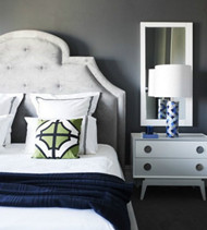 Modern silver-gray interior design