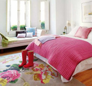 Personality bright bedroom design