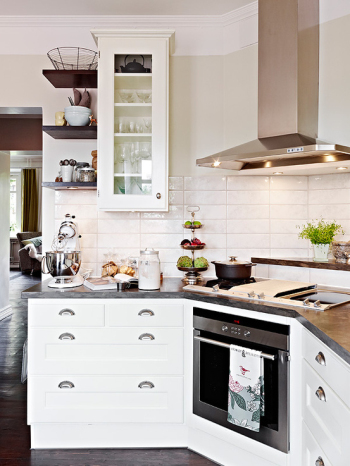 Simple home furnishing kitchen
