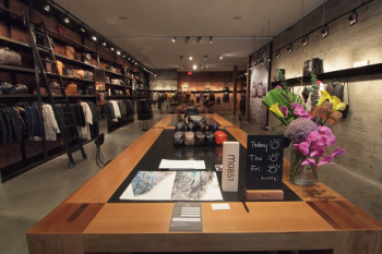 The Vancouver Gastown concept shop