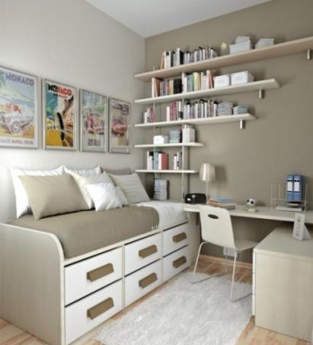 Small space bedroom design