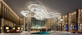 Luxury hotel lobby design
