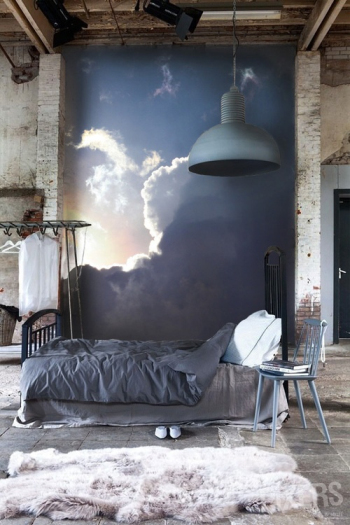 Oil painting decorated bedrooms
