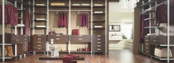 Cloakroom clothing storage room