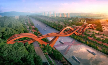 Magnificent Chinese knot styling Bridge