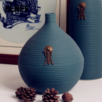 European minimalist modern fashion ceramic floor vases