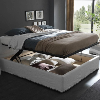 Bunk bed concealed compartments creative fashion