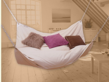 Dual hammock chair bed