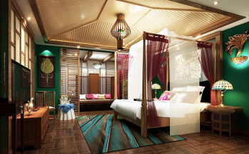 Couple theme hotel design