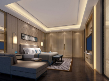 Beijing Zhonghai Nine mansion villa interior design