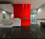 Bathroom Spaces / / Gold Effect Picture