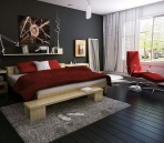 Featured interior decoration super model the effect of the overall plan