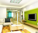 Living Room Dining Effect Picture