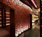 Brown theme restaurants Nobu Dubai
