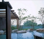Japanese hot springs resort hotel